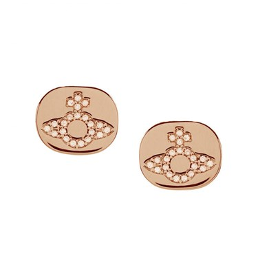 Vivienne Westwood Milano Rose Earrings   - Click to view larger image