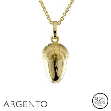 Argento Acorn Necklace