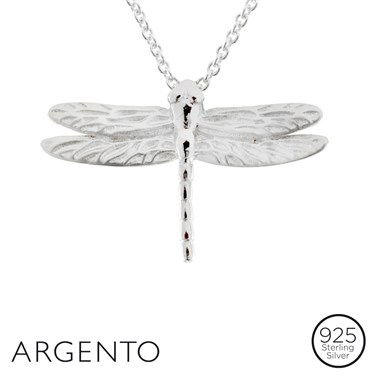 Argento Dragonfly Necklace