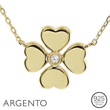 Argento Clover Necklace