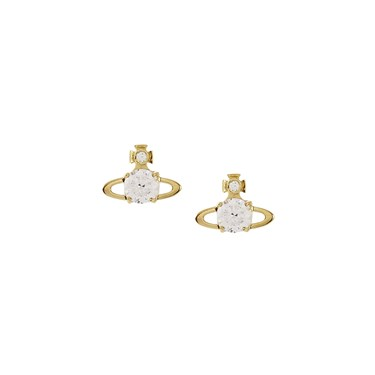 Vivienne Westwood Reina Gold Earrings   - Click to view larger image