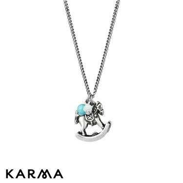 Karma Rocking Horse Necklace