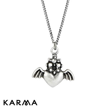 Karma Heart and Wings Necklace