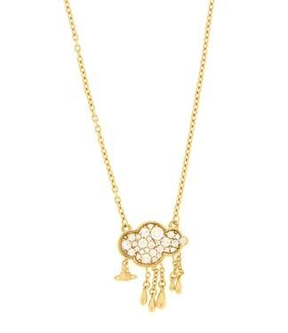 Vivienne Westwood Shira Cloud Gold Pendant    - Click to view larger image