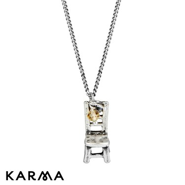 Karma 16 Inch Chair Necklace