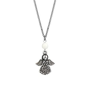 Karma 16 Inch Angel Necklace