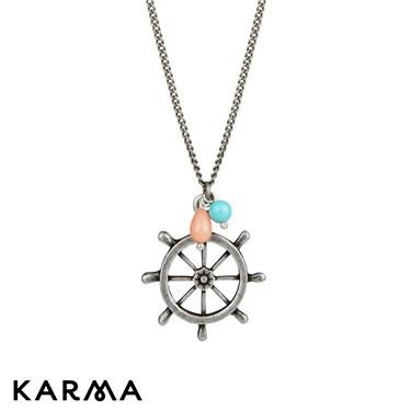 Karma 16 Inch Helm Necklace