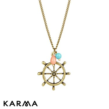 Karma 30 Inch Helm Necklace