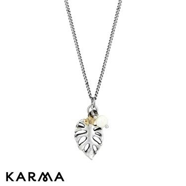 Karma 16 Inch Lilypad Necklace