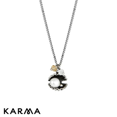 Karma 16 Inch Shell Necklace