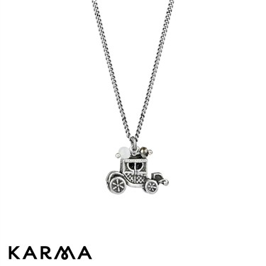 Karma 16 Inch Carriage Necklace
