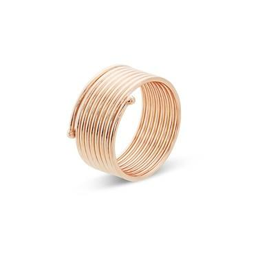 Storie  Rose Gold Base Ring  - Click to view larger image
