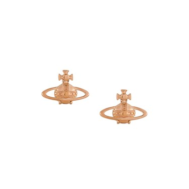 Vivienne Westwood Suzie Rose Gold Earrings   - Click to view larger image