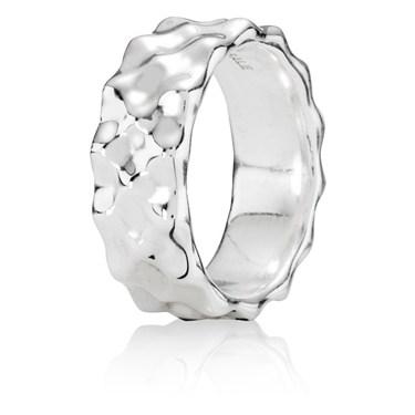 Pandora Large Wave Ring