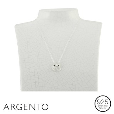 Argento Silver Owl Necklace