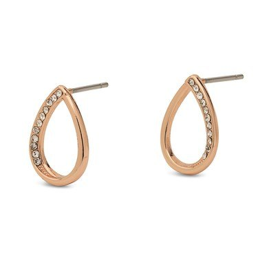 Pilgrim Rose Gold Rosella Earrings  - Click to view larger image