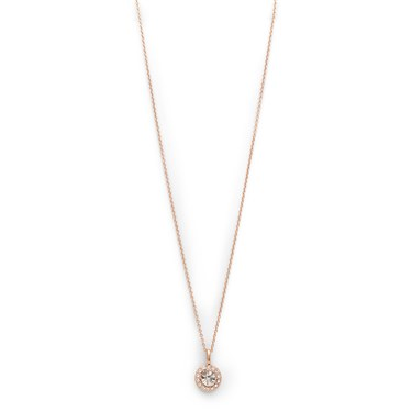 Pilgrim Rose Gold Crystal Clementine Necklace  - Click to view larger image