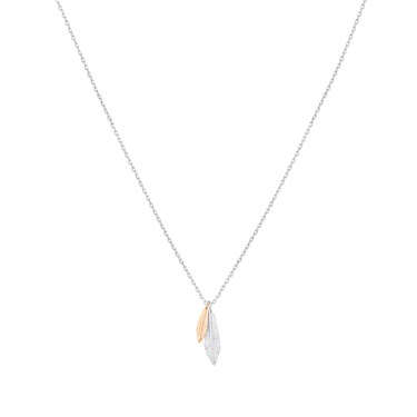 Karma Gold Feathers Necklace  - Click to view larger image