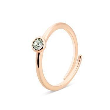 Karma Rose Gold August Adjustable Ring  - Click to view larger image