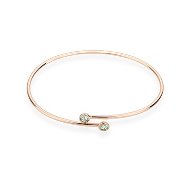 Karma Rose Gold August Wrap Bangle  - Click to view larger image