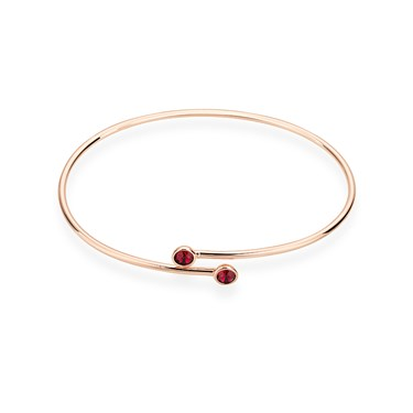 Karma Rose Gold July Wrap Bangle  - Click to view larger image