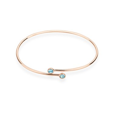 Karma Rose Gold March Wrap Bangle  - Click to view larger image