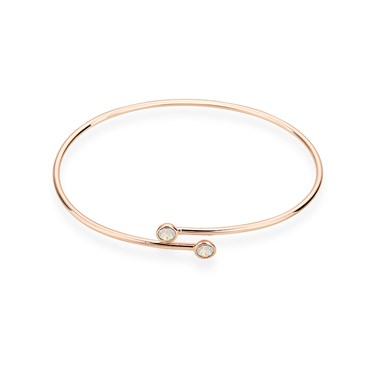 Karma Rose Gold October Wrap Bangle  - Click to view larger image