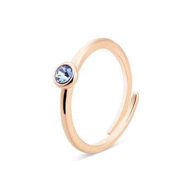 Karma Rose Gold September Adjustable Ring  - Click to view larger image