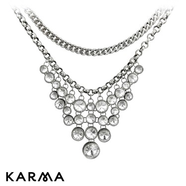 Karma Crystal Necklace