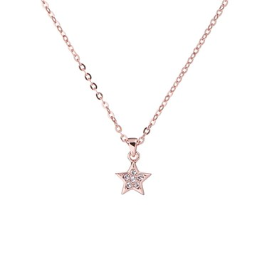 Ted Baker Rose Gold Saigi Star Necklace  - Click to view larger image