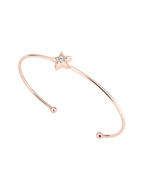 Ted Baker Rose Gold Saphria Star Bangle  - Click to view larger image