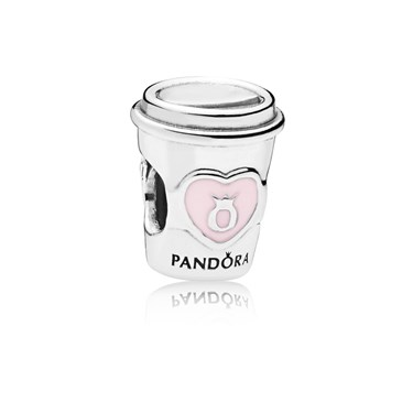 Pandora Drink To Go Charm  - Click to view larger image