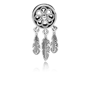 Pandora Spiritual Dreamcatcher Charm  - Click to view larger image