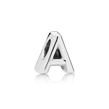 Pandora Letter A Charm  - Click to view larger image