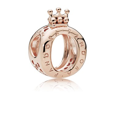 Pandora Rose Logo Crown Charm  - Click to view larger image