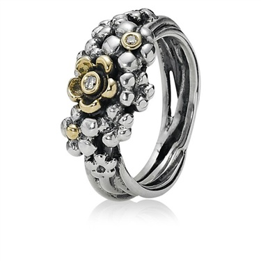 Pandora Flower Bouquet Ring