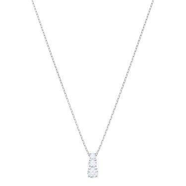 Swarovski Attract Trilogy White Necklace  - Click to view larger image
