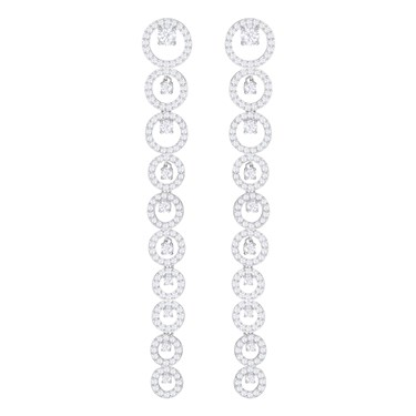 Swarovski Creativity Long Drop Earrings  - Click to view larger image