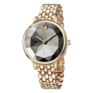 Swarovski Crystal Lake Rose Gold Watch  - Click to view larger image