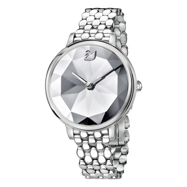 Swarovski Crystal Lake Stainless Steel Watch  - Click to view larger image