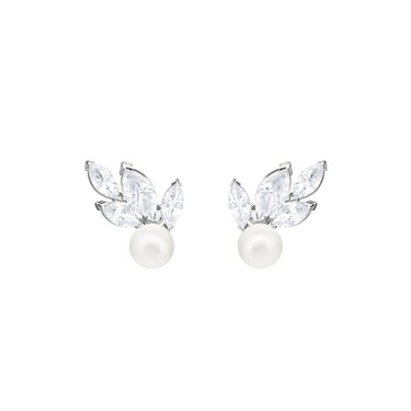 Swarovski Louison Pearl Stud Earrings  - Click to view larger image