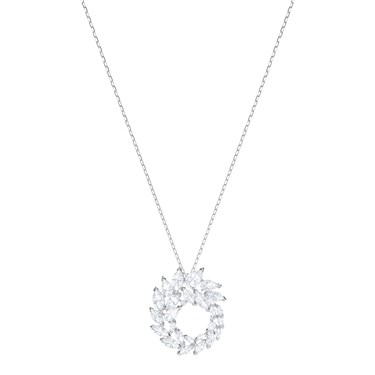Swarovski Louison Circle Pendant Necklace  - Click to view larger image