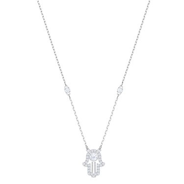 Swarovski Luckily Hamsa Hand Necklace  - Click to view larger image