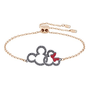 Swarovski Mickey & Minnie Bracelet  - Click to view larger image