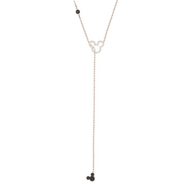 Swarovski Mickey Y Necklace  - Click to view larger image