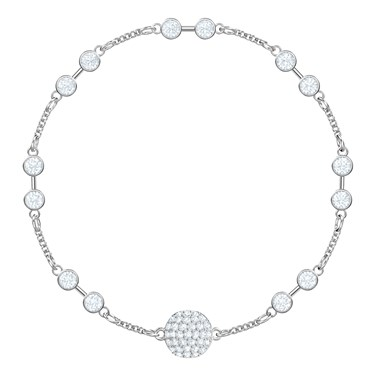 Swarovski Remix Collection Silver Carrier Bracelet  - Click to view larger image