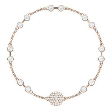 Swarovski Remix Collection Rose Gold Carrier Bracelet  - Click to view larger image
