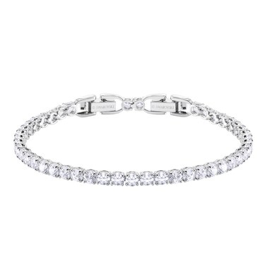 Swarovski Tennis Round Deluxe White Bracelet  - Click to view larger image