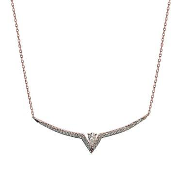 Carat* London Victoria Drop Pendant Necklace  - Click to view larger image