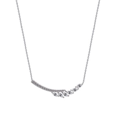 Carat* London Laeta Drop Pendant Necklace  - Click to view larger image